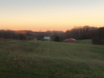 God's Whisper Farm dusk
