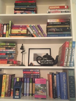 Daryl Wood Gerber's Bookshelves
