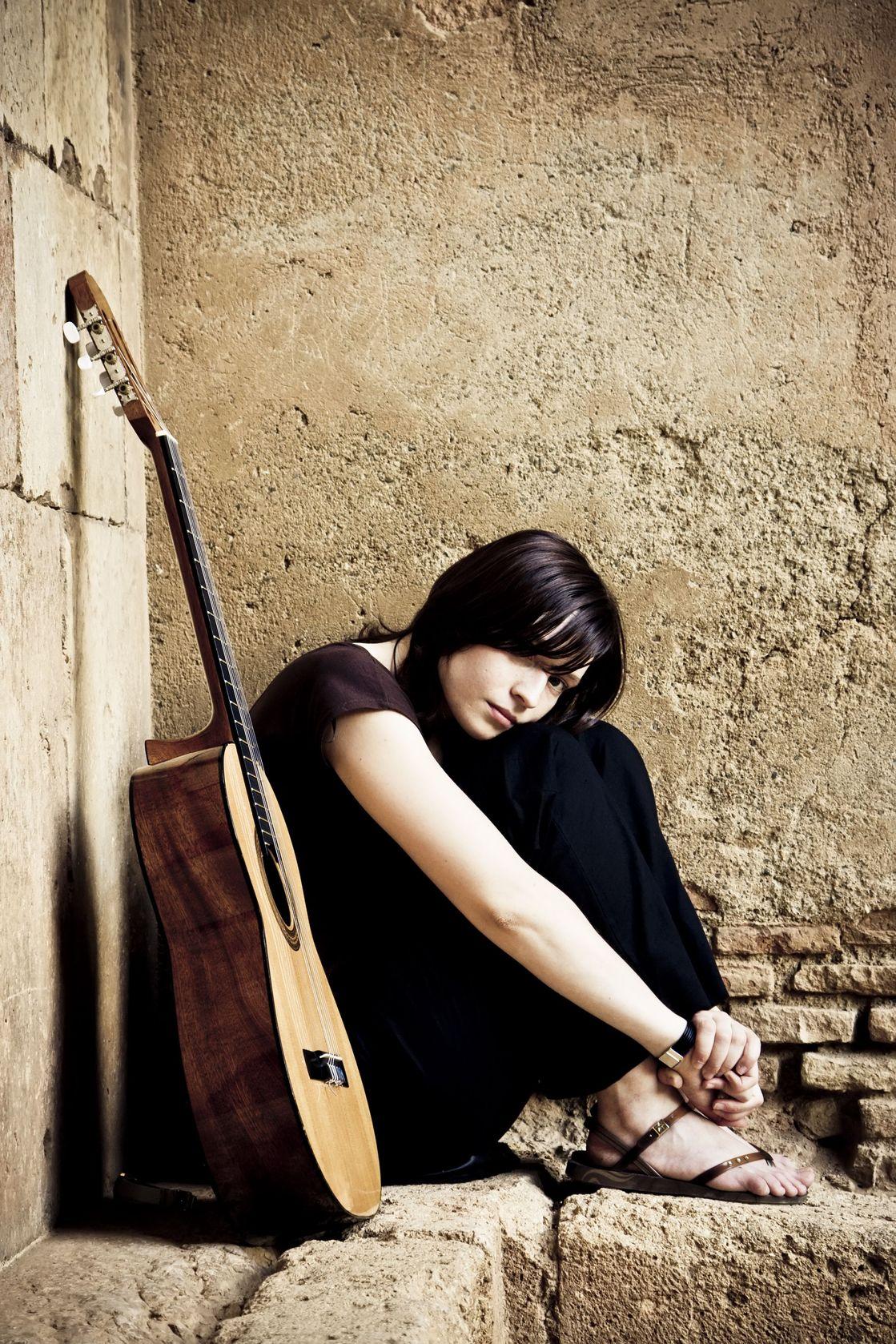 Lone Sad Guitarist