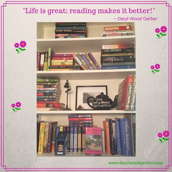 Life is great; reading makes it better!