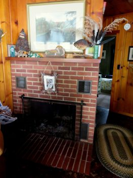 mantel at the lake (Jeanie)