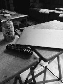 Living room writing
