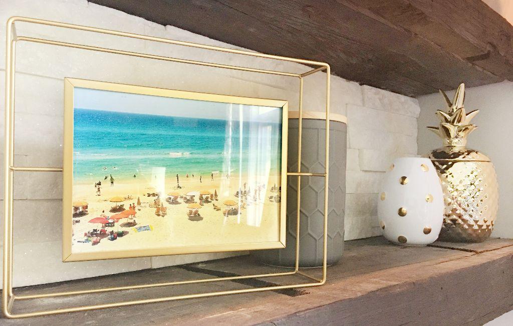 Family Beach Trip Framed