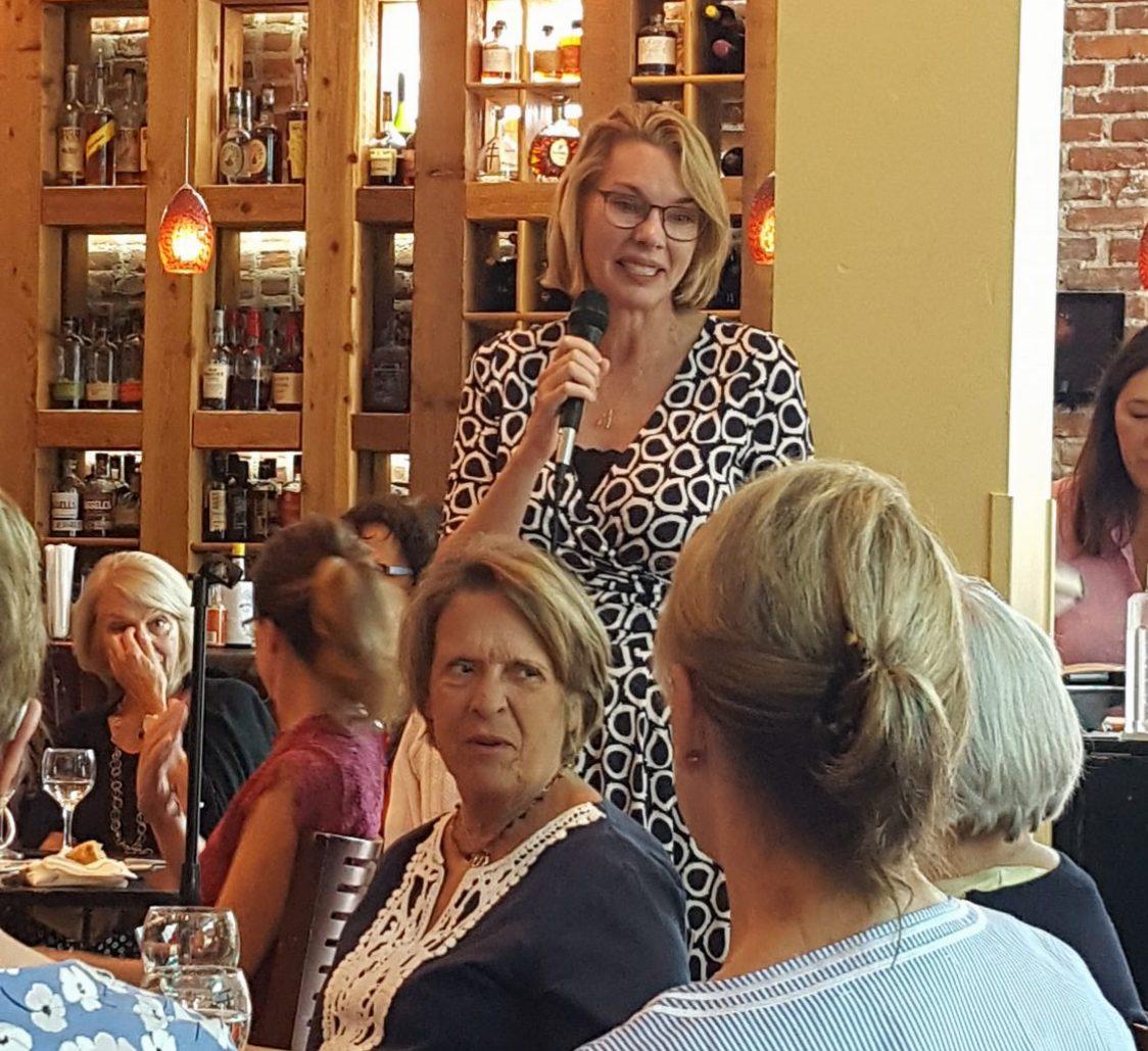 Fiona Davis - August 2018 - Bexley, OH