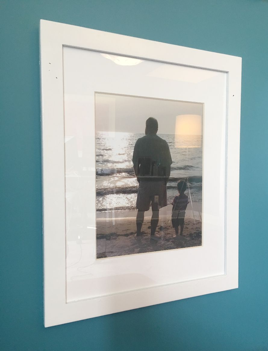 Gallery Wall with Family Memories Photo Laura Pursley